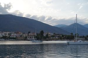 The shore of Galixidi.