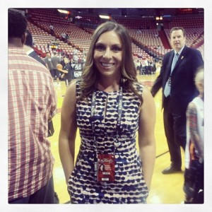Covering the 2014 NBA Finals was a blast!