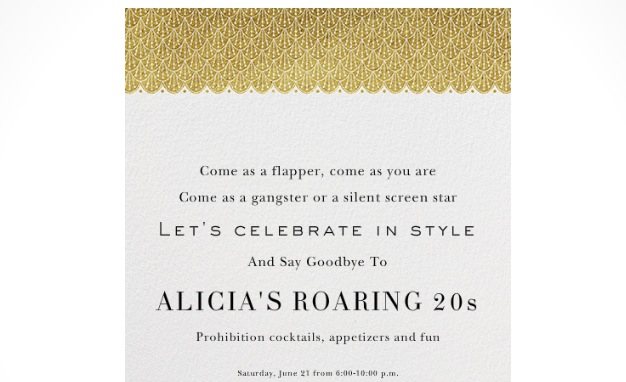 Saying Goodbye To My Roaring 20s A 30th Birthday Party Alicia Jessop
