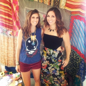 A colorful Miami day at the Sense Beach House with Mamie Ruth's founder, Emily.