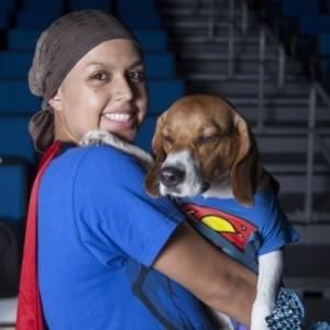 Meet Gabriella, and her dog, Burrito.
